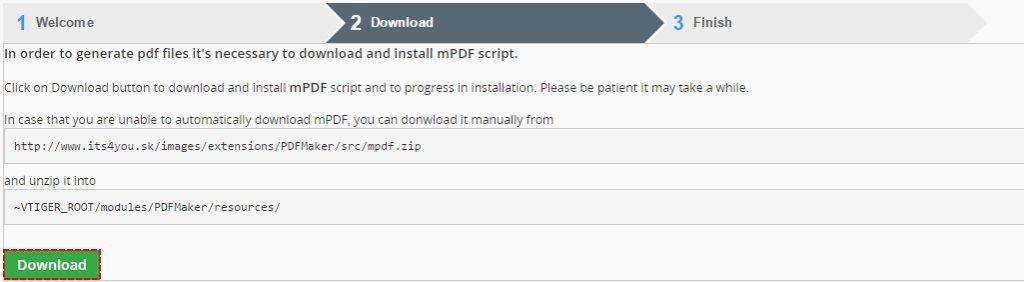 mPDF for PDF Maker
