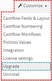 Upgrade of Cashflow