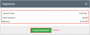 Payment block