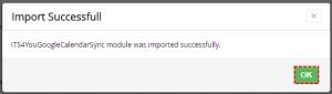 How to install Google Calendar Sync