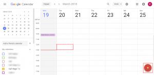 Create record within Google - Google Calendar Vtiger 7 Sync