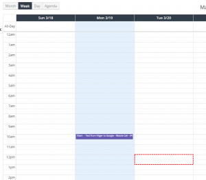 Record from Google is not displayed - Google Calendar Vtiger 7 Sync