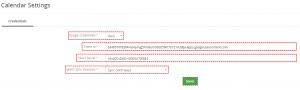 Save own ID of Google Project - Google Calendar Vtiger 7 Sync
