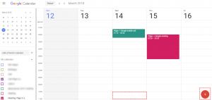 Create record within Google - Google Calendar Vtiger 6 Sync