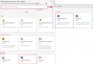 Find Api Google Project - Google Calendar Vtiger 7 Sync