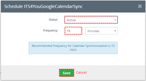 How to automate Google -> vtiger Sync
