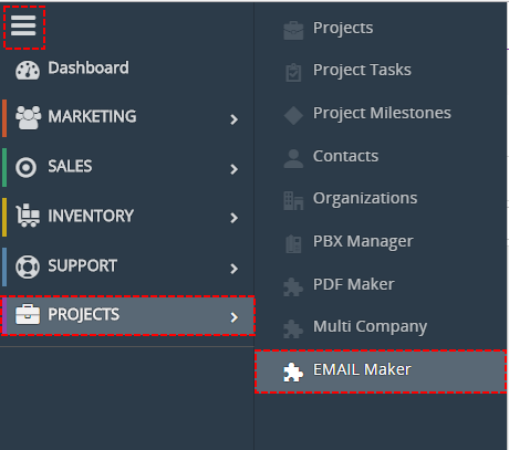 How to start EMAIL Maker
