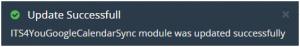 How to update Google Calendar Sync