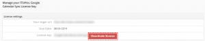 Select Deactivation - Google Calendar Vtiger 6 Sync