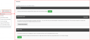 Extensions – Email Maker Vtiger 7