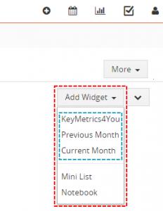 Add Key Metrics on Dashboard - Reports 4 You Vtiger 7