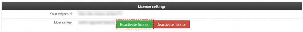 Rectivate license - Credit Notes 4 You Vtiger 7