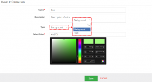 EditView - ListView Colors 4 You Vtiger 7