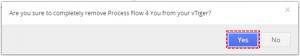 Uninstall - Process Flow 4 You Vtiger 7