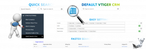 Quick Search extension for Vtiger CRM Improve search feature in your system