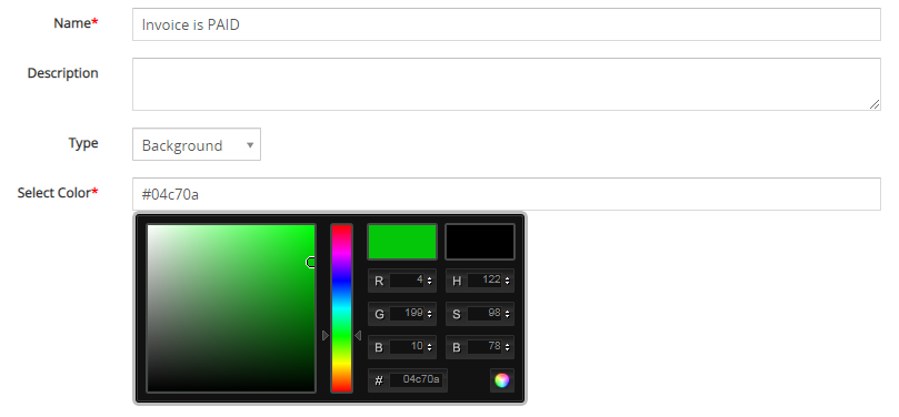 The ListView Colors is an extension tool designed for Vtiger CRM