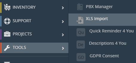 XLS Import for Vtiger CRM