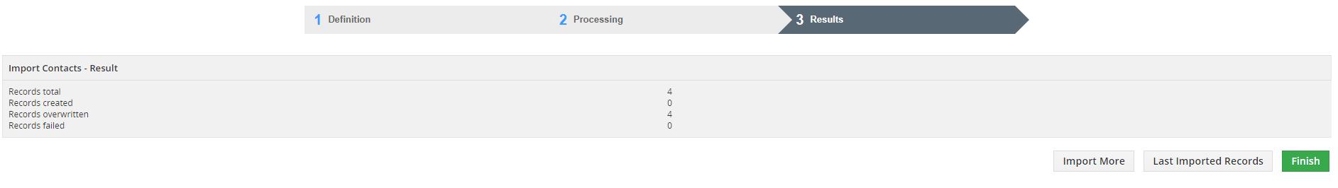 XLS import overwrite method