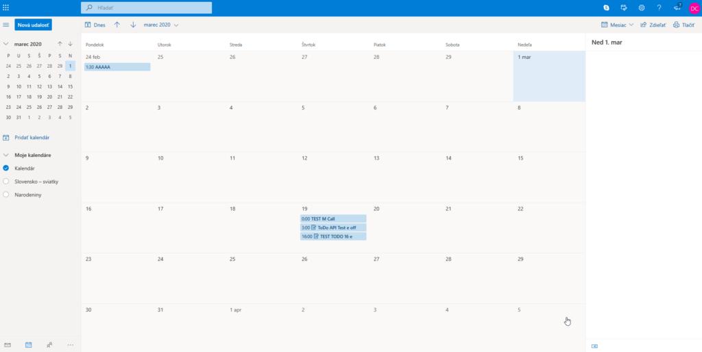 Vtiger CRM Outlook Plugin - Outlook 365 Calendar